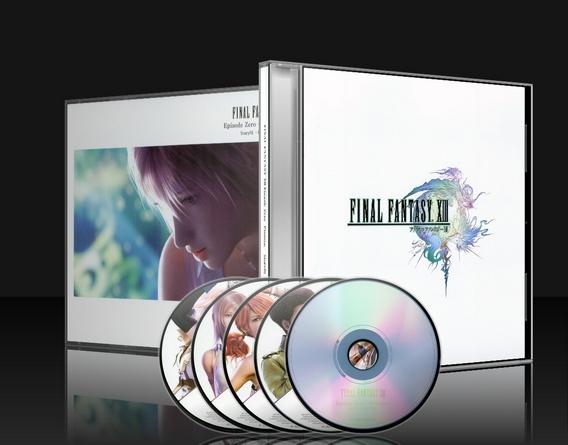FFXIII Soundtrack Box Cover